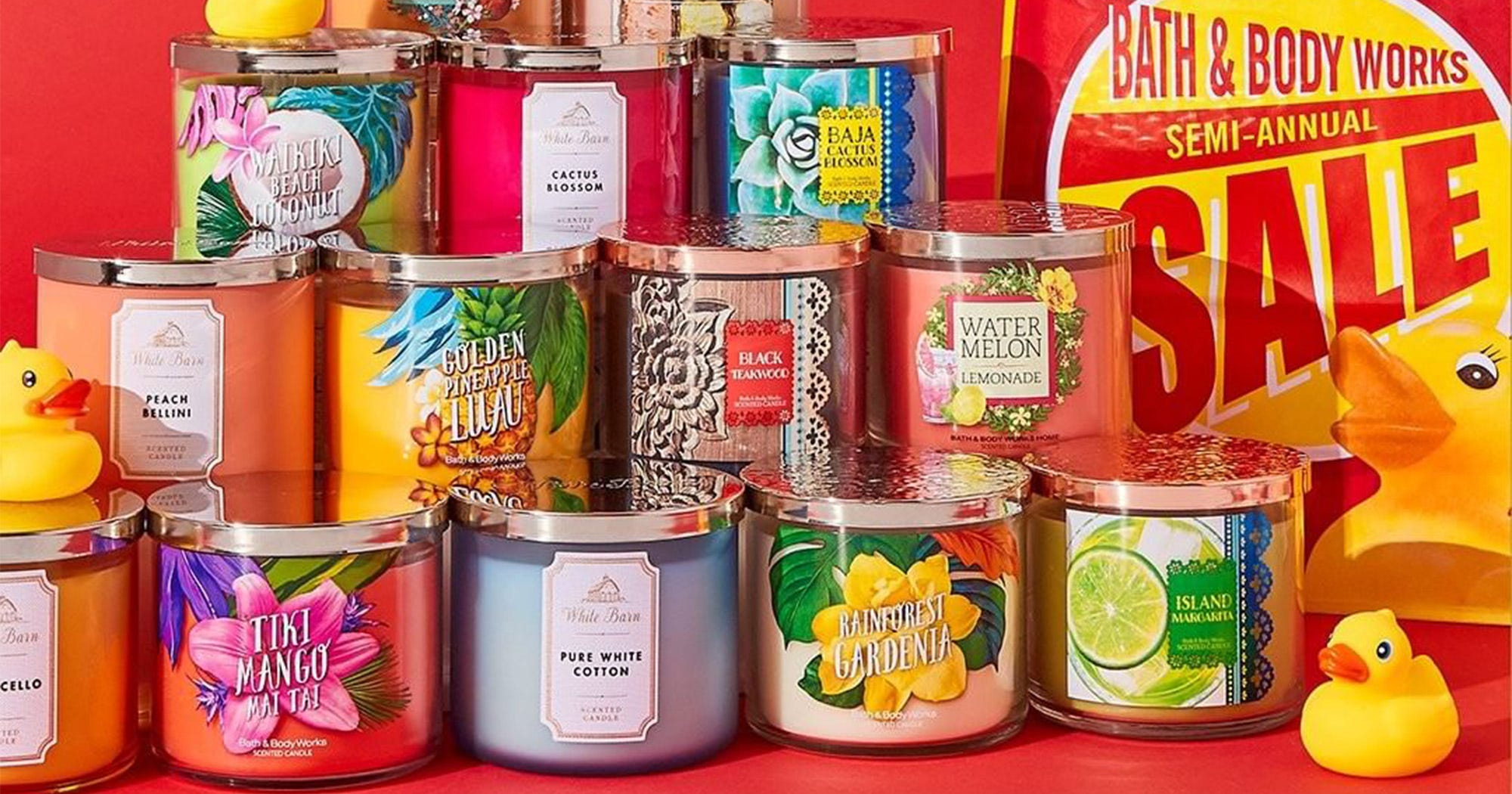 Bath & Body Works Semi Annual Sale Has Candles 50% Off