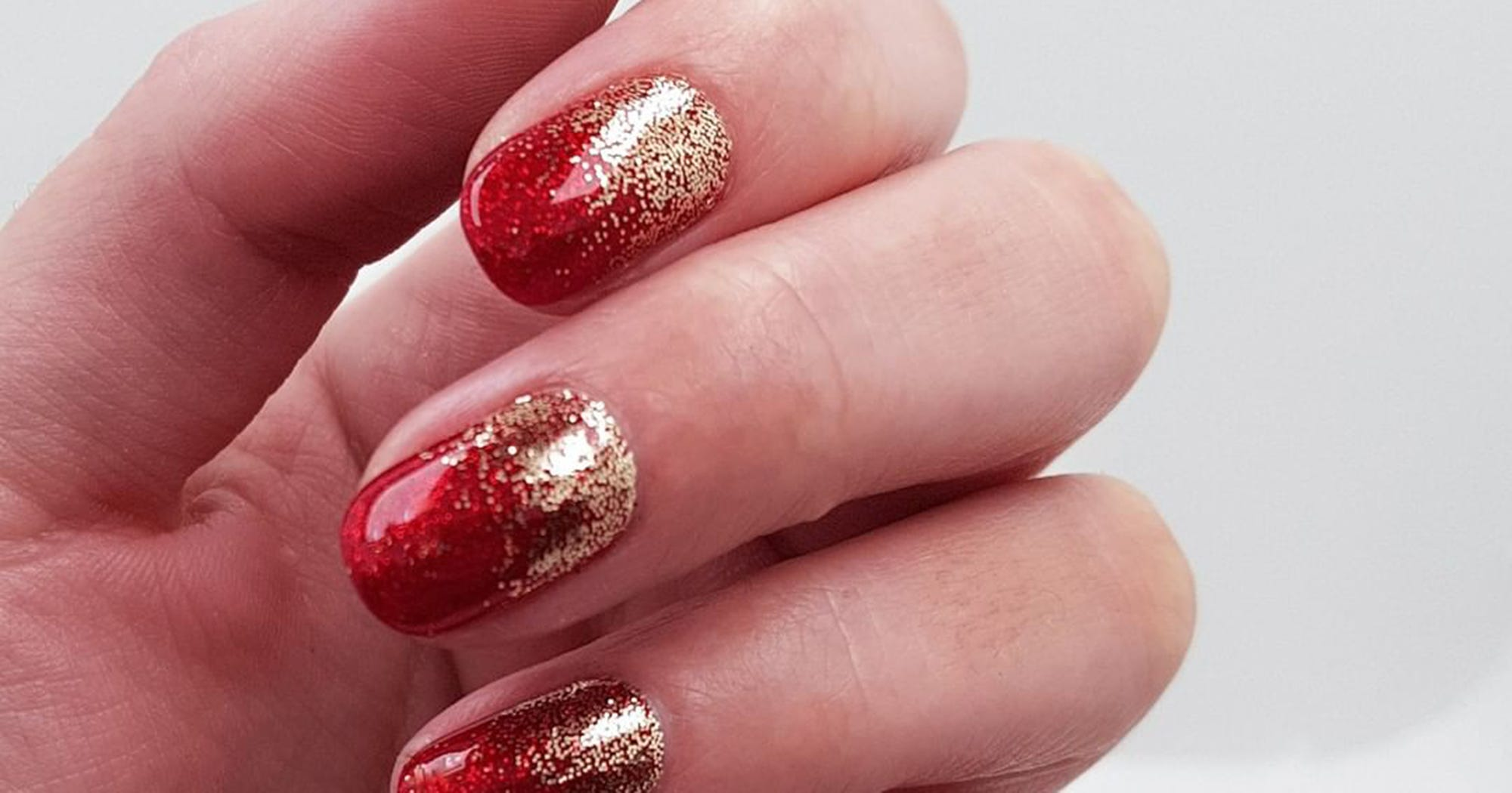Chinese New Year Nail Art Designs For Red \u0026 Gold Nails