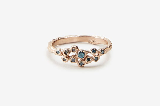 32 Unexpected Engagement Rings That Are Quirky Not Cutesy