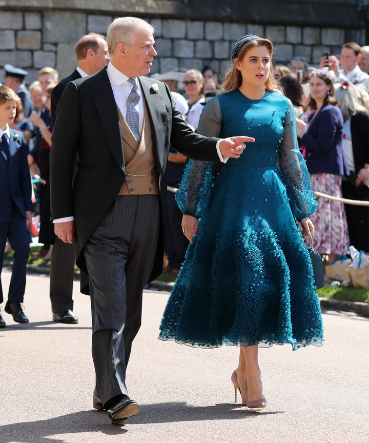 Kate, Pippa, Eugenia, Beatrice Royal Wedding Fashion