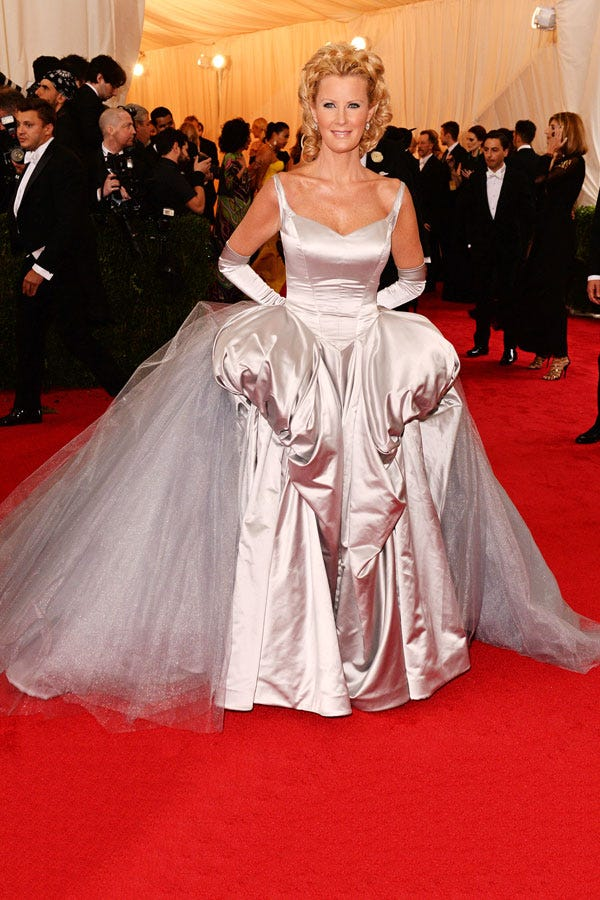 Sandra Lee Met Ball Gown- Dara Lamb 2014
