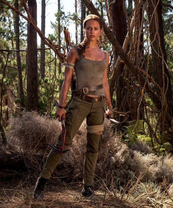 Alicia Vikander Tomb Raider: Alicia Vikander Tomb Raider Workout, Lara Croft Role