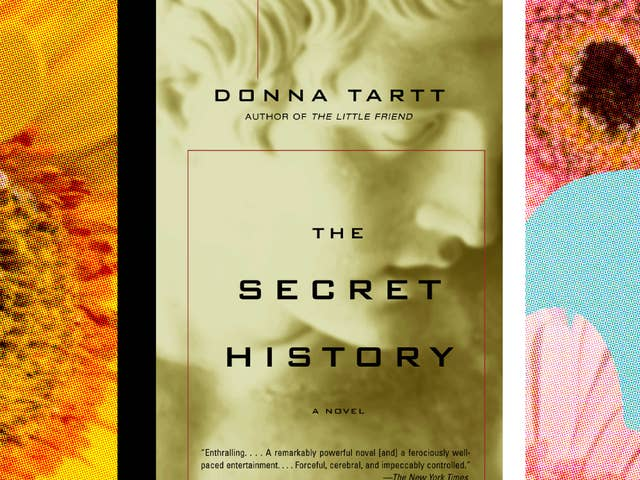 The cover of Donna Tartt's The Secret History.
