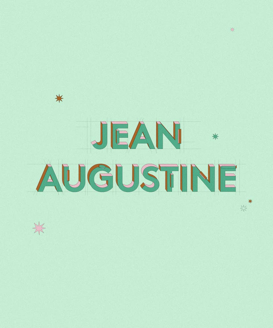 Graphic of the name Jean Augustine