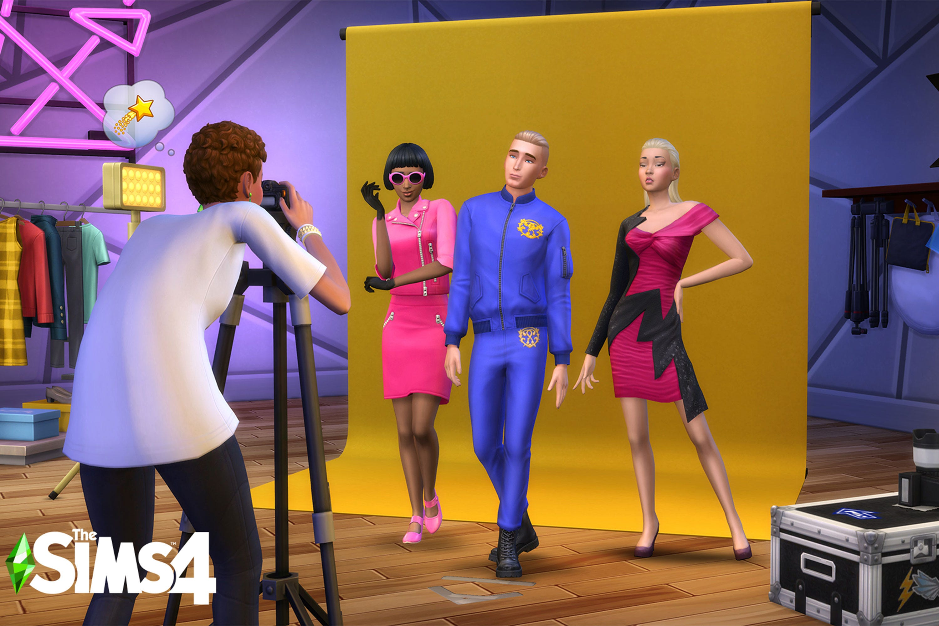 Jeremy Scott On Design Process For Moschino X The Sims