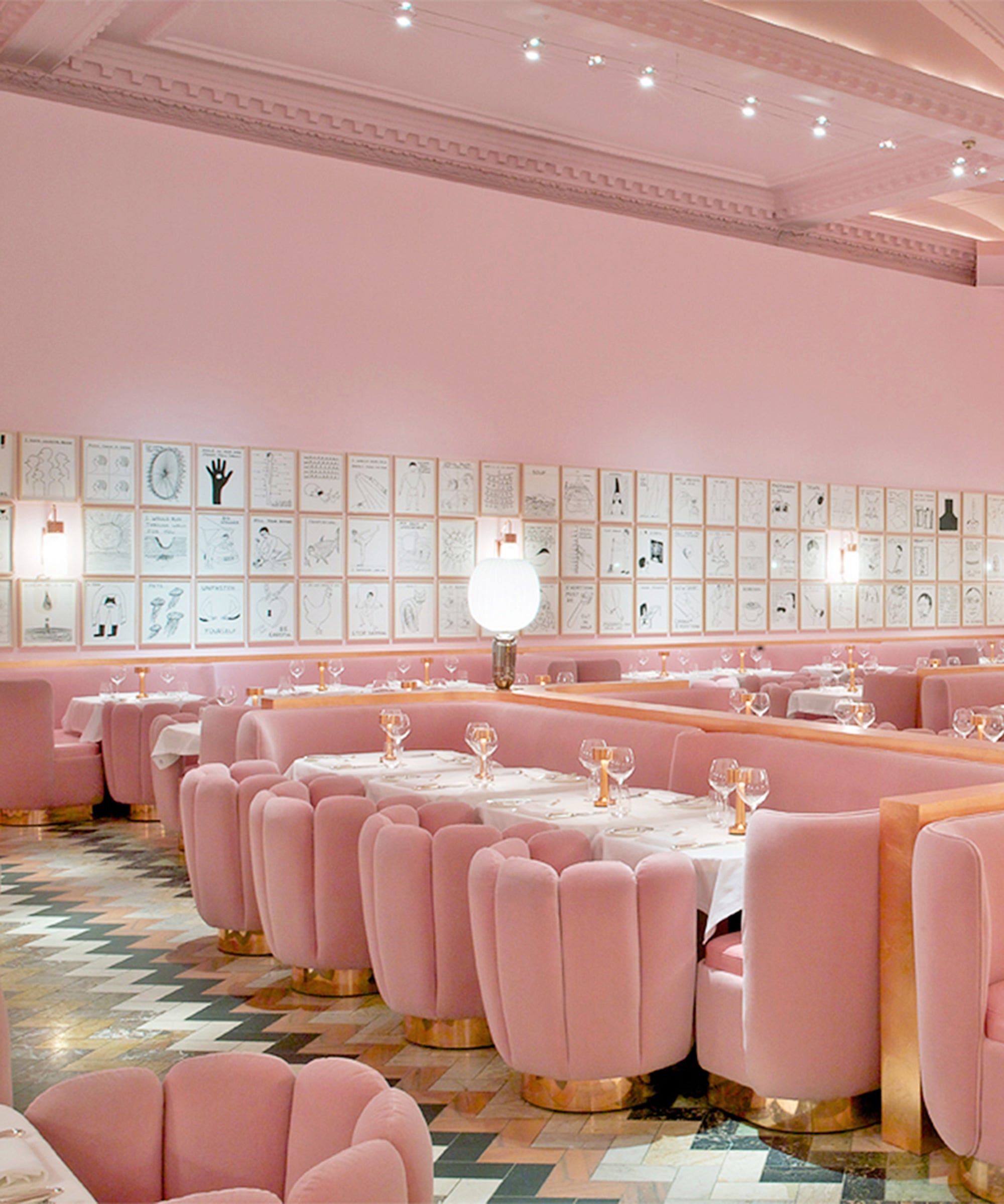 10 Millennial Pink Places To Go Just For The Instagram
