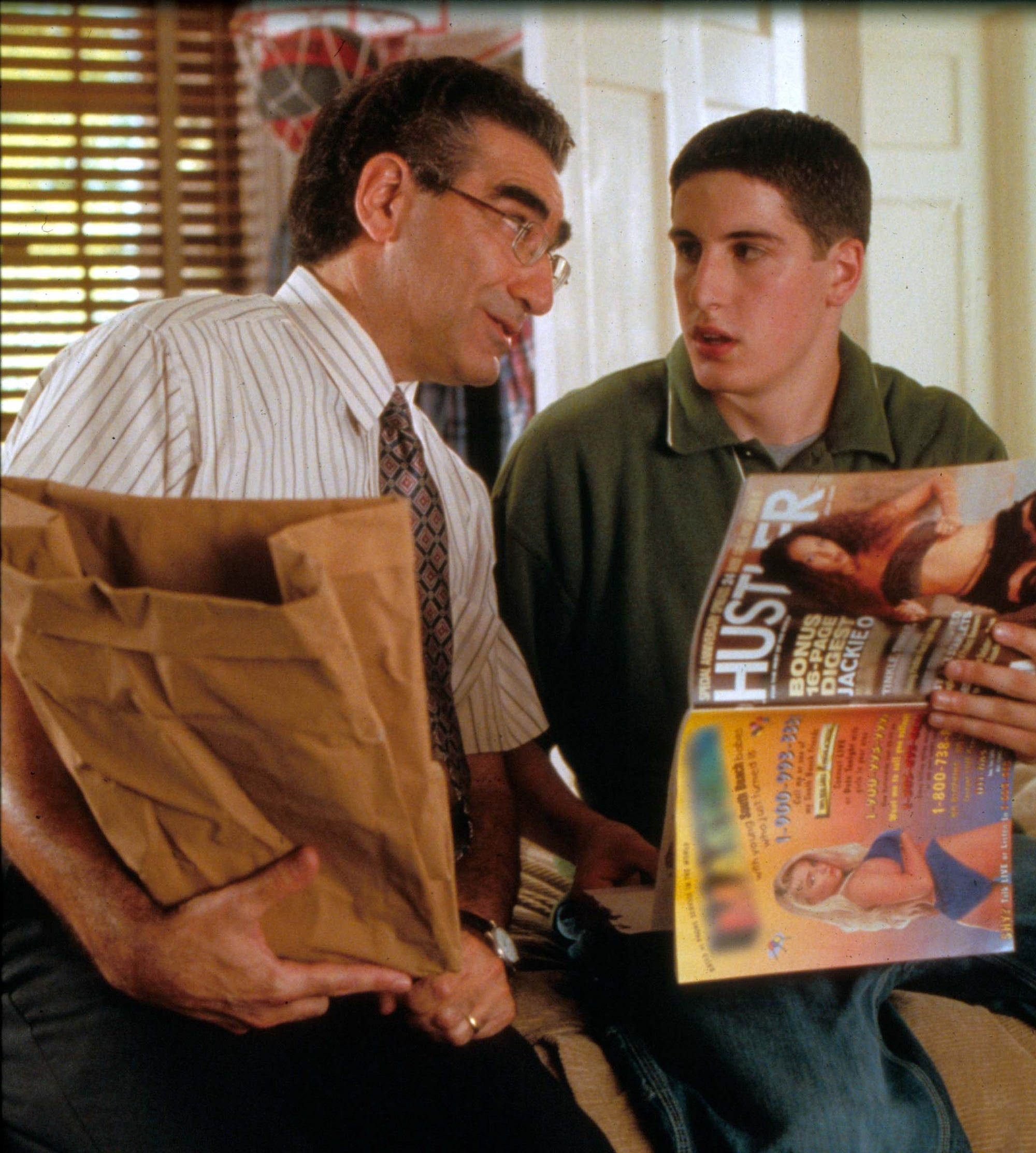 14 Year Old Boy Caught Wanking Porn rewatching american pie on its 20th anniversary