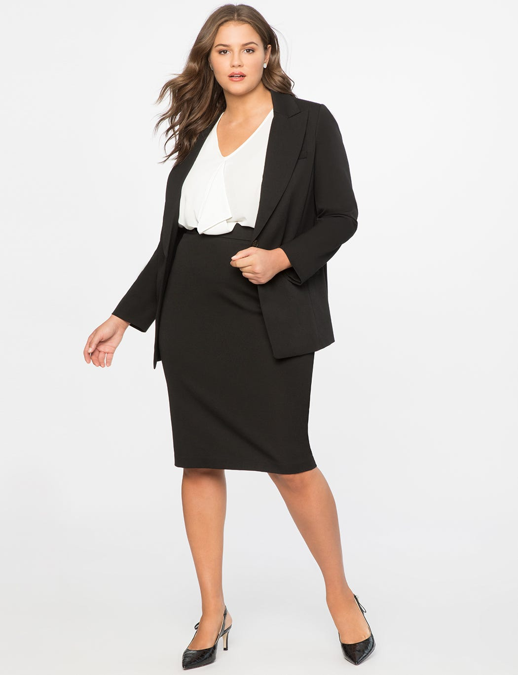 5 Plus-Size-Friendly Workwear Brands You Should Be