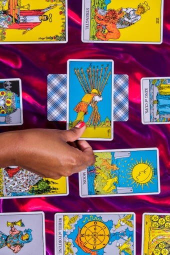 Yes Or No Tarot Card, Single Reading For Beginners