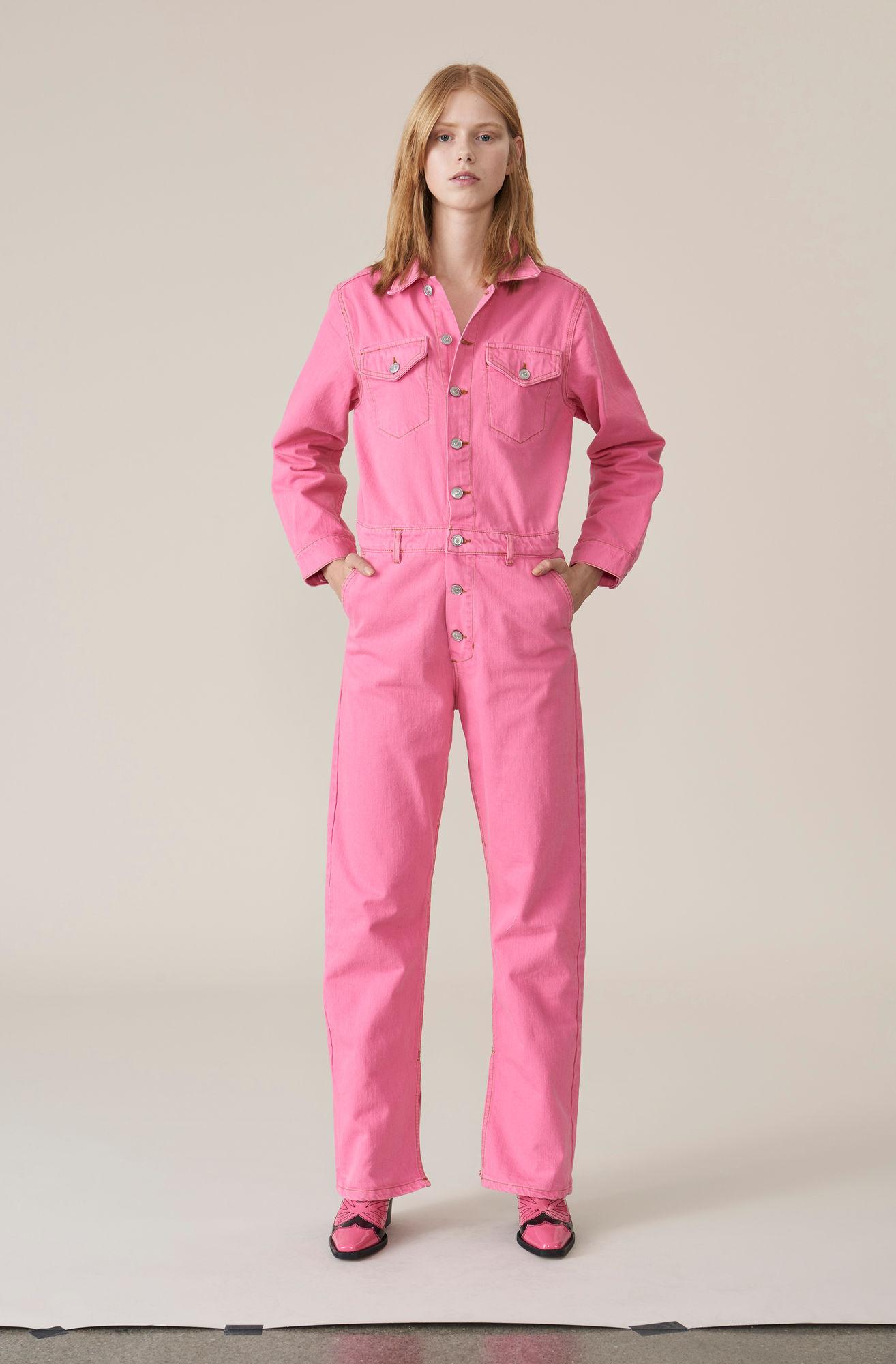 b86dd235ee03 Baserange + Baserange Aorta Jumpsuit in Lumbar Pink