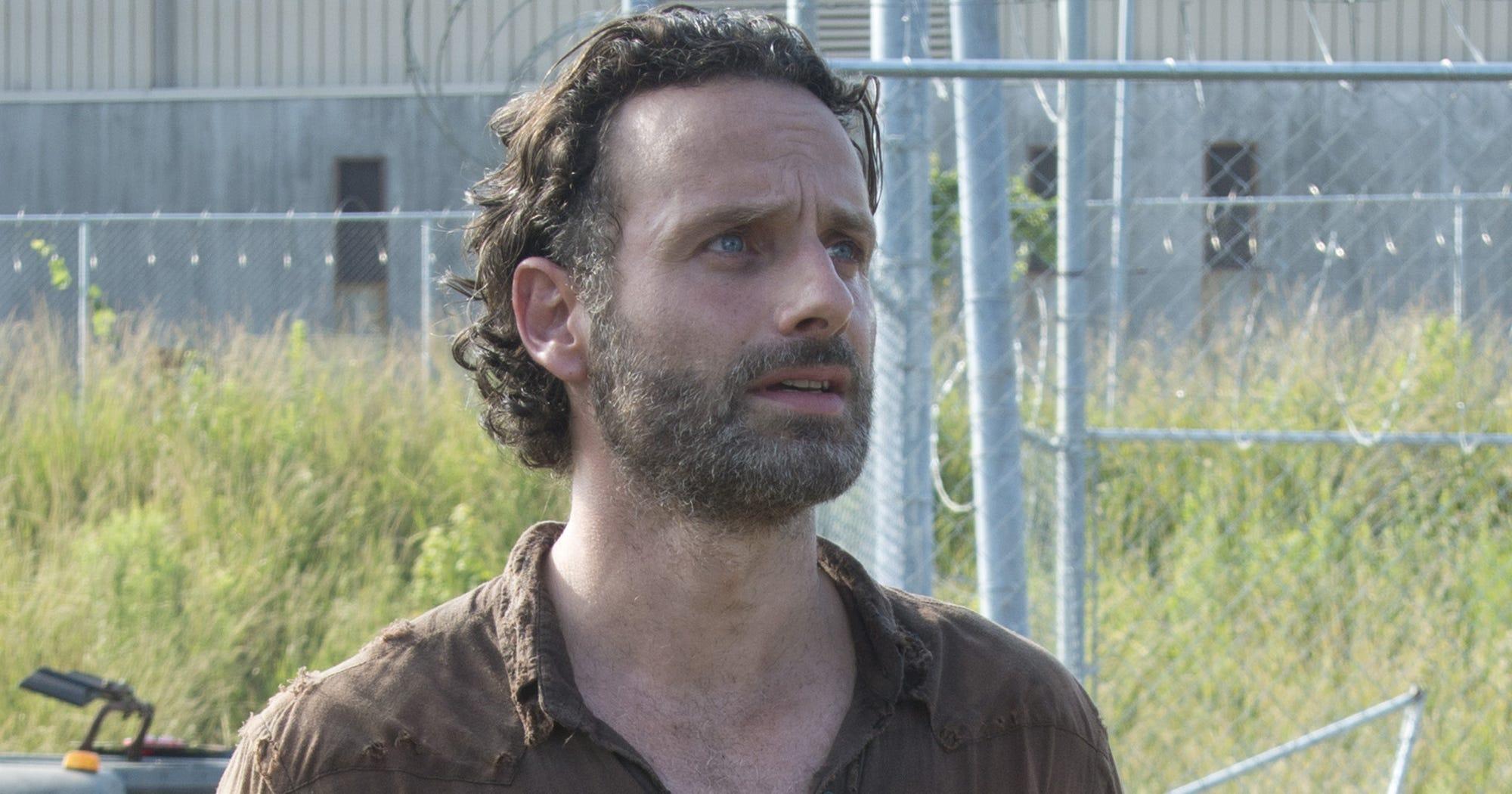 The Walking Dead Rick Grimes Lose Arm Amputation