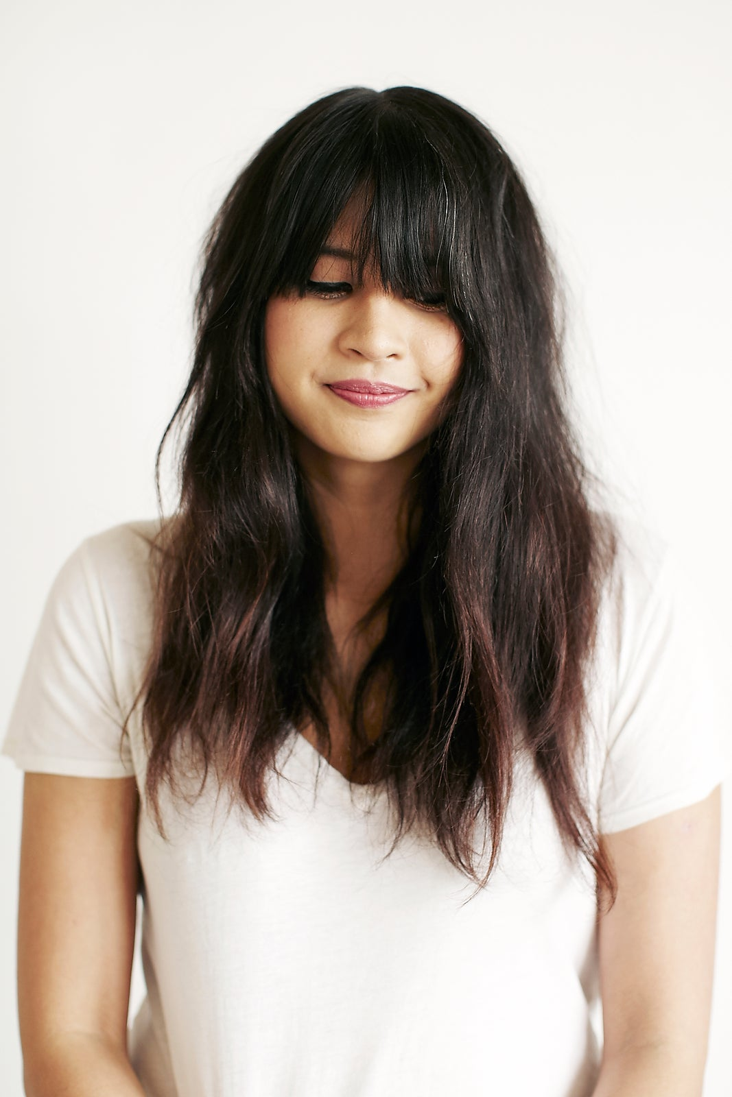Growing Out Bangs - How To Style Long Fringe