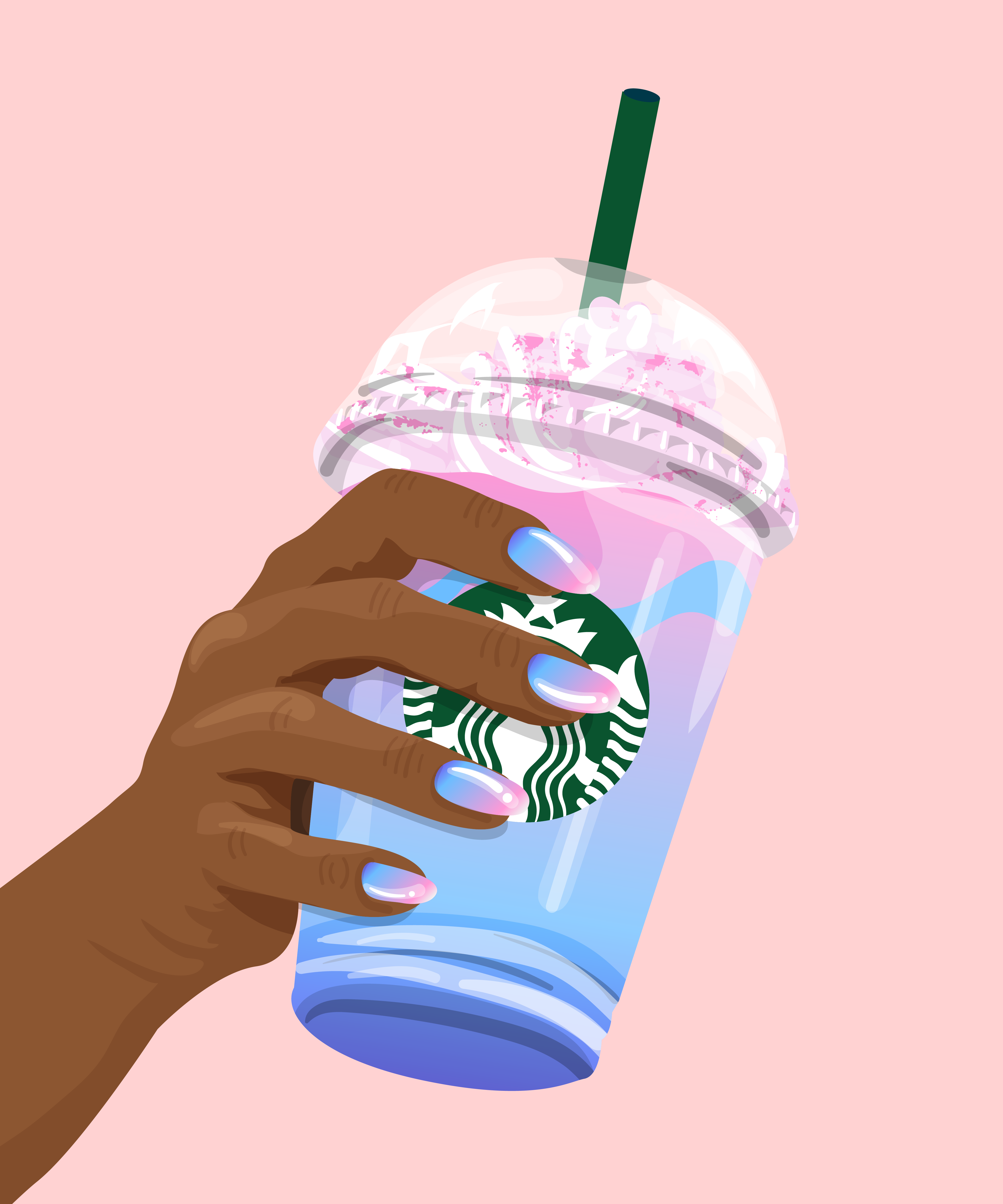 How To Make Starbucks Unicorn Frappuccino Diy Recipe