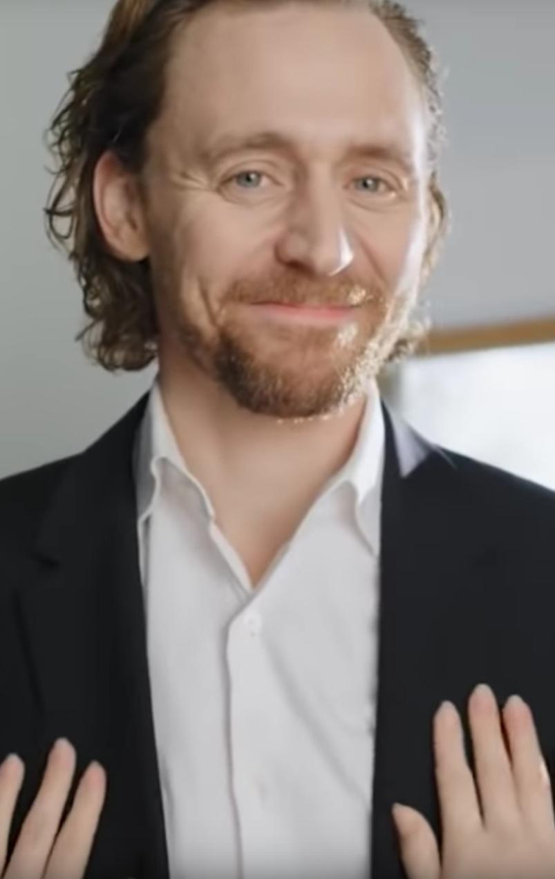 Tom Hiddleston Creepy Womens Vitamin Commercial