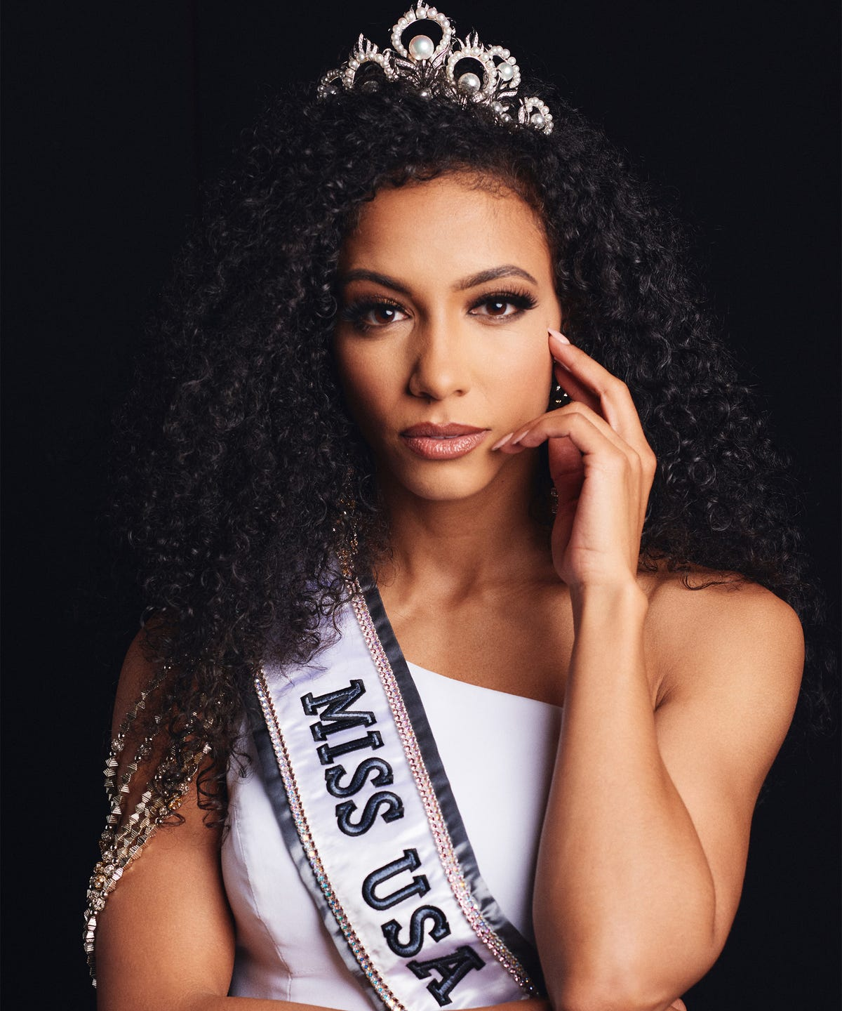 Miss USA Cheslie Kryst Natural Hair Interview