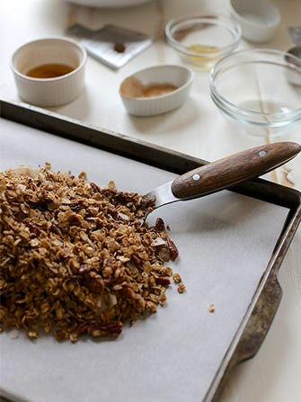 Oatmeal Cookie Granola For The Best Breakfast Ever