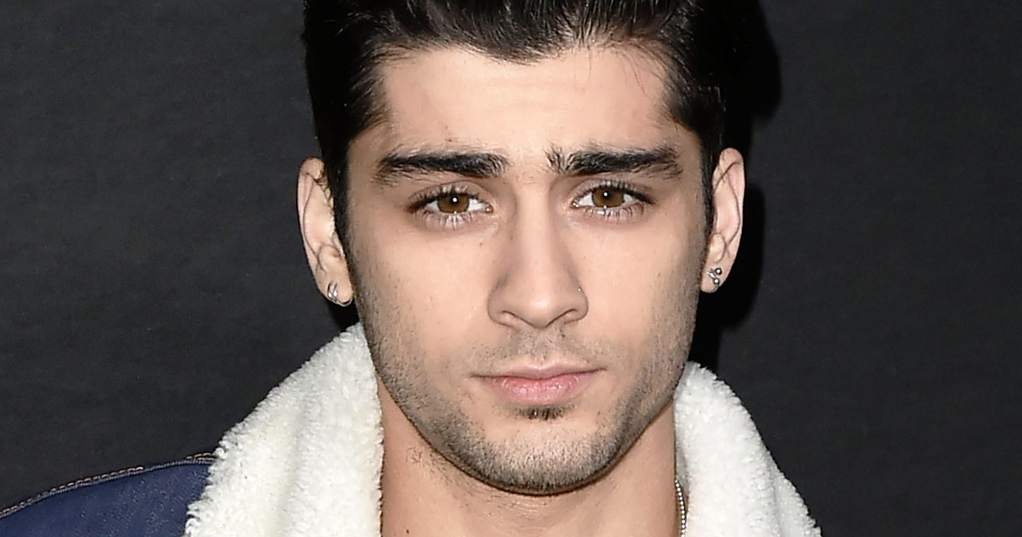 Zayn Malik New Long Hair Man Bangs Hairstyle Photo