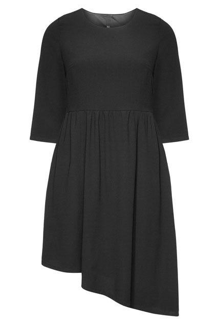 Asymmetric Georgette Dress
