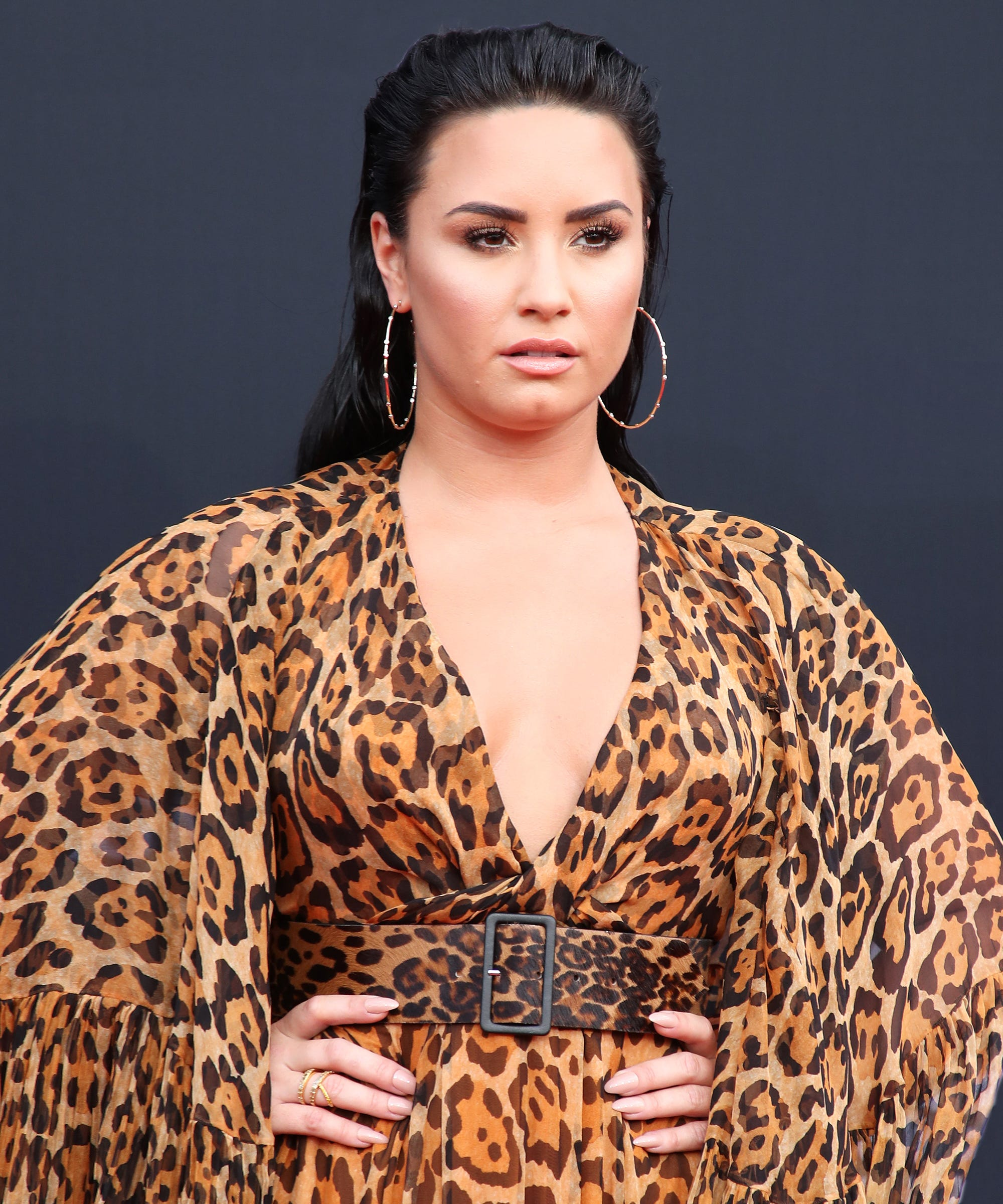 Demi Lovato Post Rehab Selfie After Nick Jonas Wedding