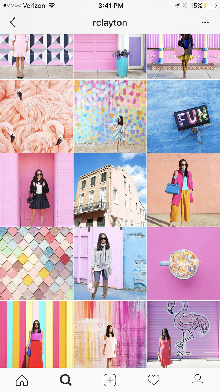 Instagram Grid How To Curate Instagram Feed Page Tips