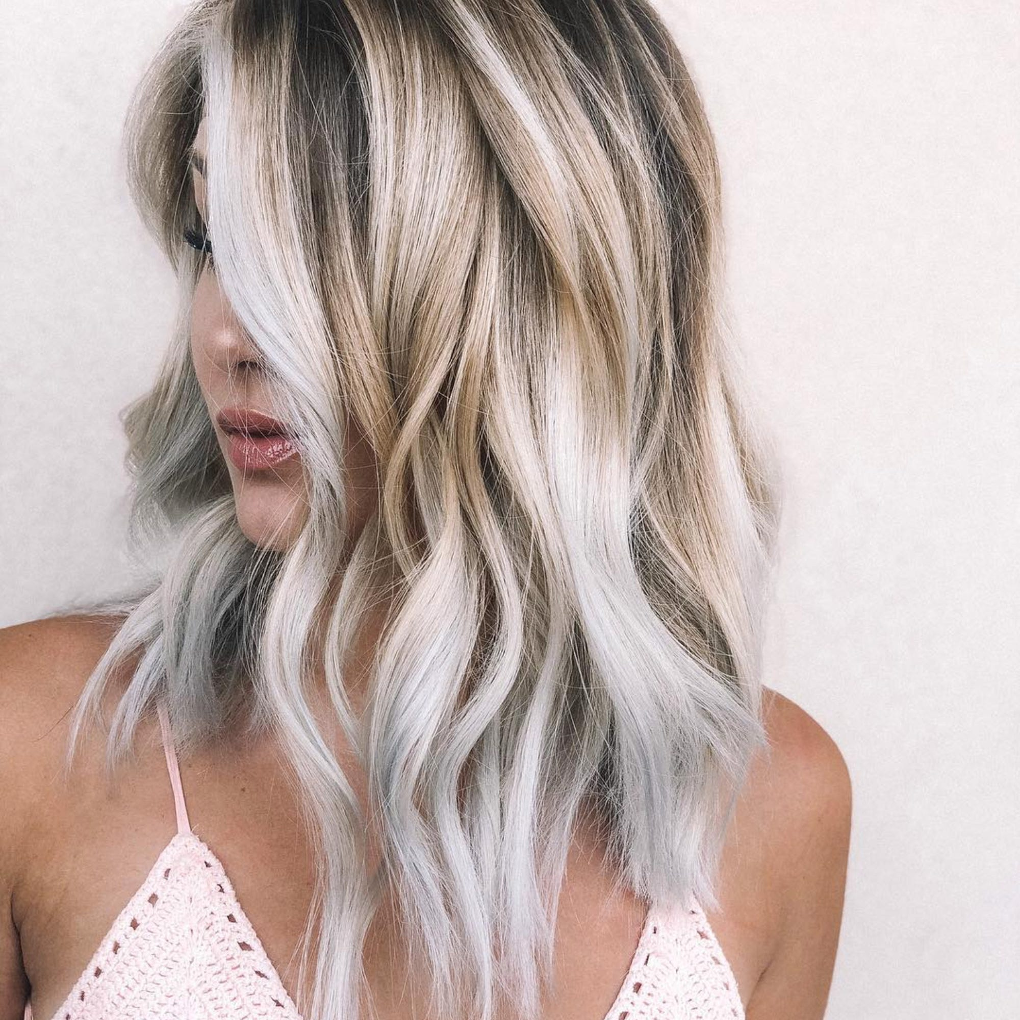 Toasted Coconut The Autumn Hair Trend Taking Over