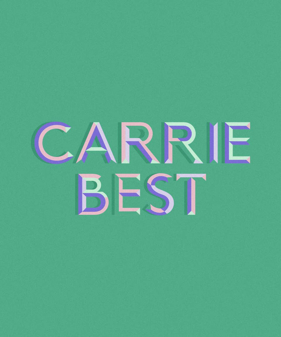 Graphic of the name Carrie Best