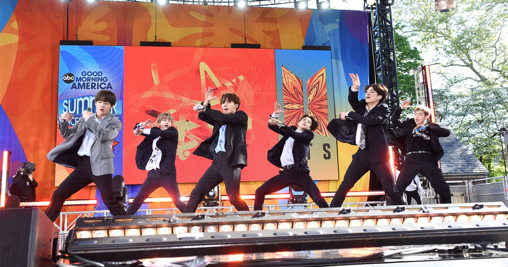 BTS Best Moments & Reactions on Good Morning America