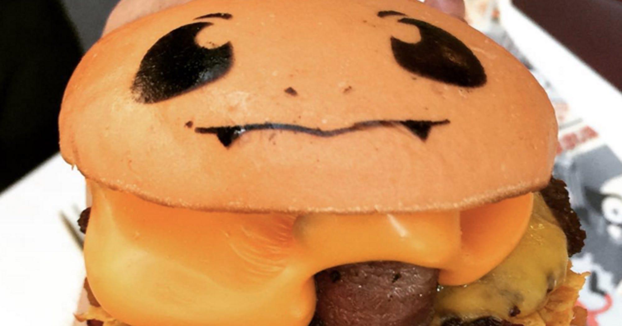 Pokemon Burgers Pikachu Bulbasaur Charmander Australia