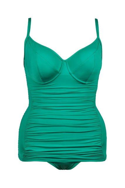 det billigste ny livsstil premium valg Ava One Piece Swimsuit Emerald