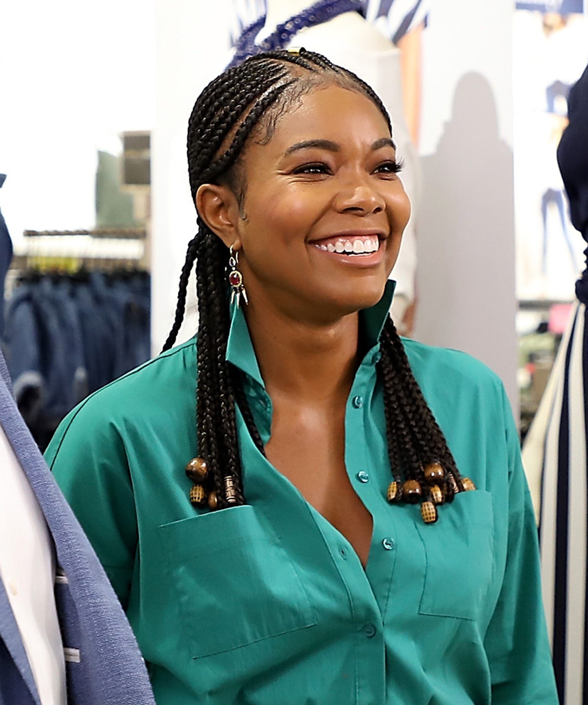 Cute Ways To Wear Beads On Cornrows, Braids, And Locs