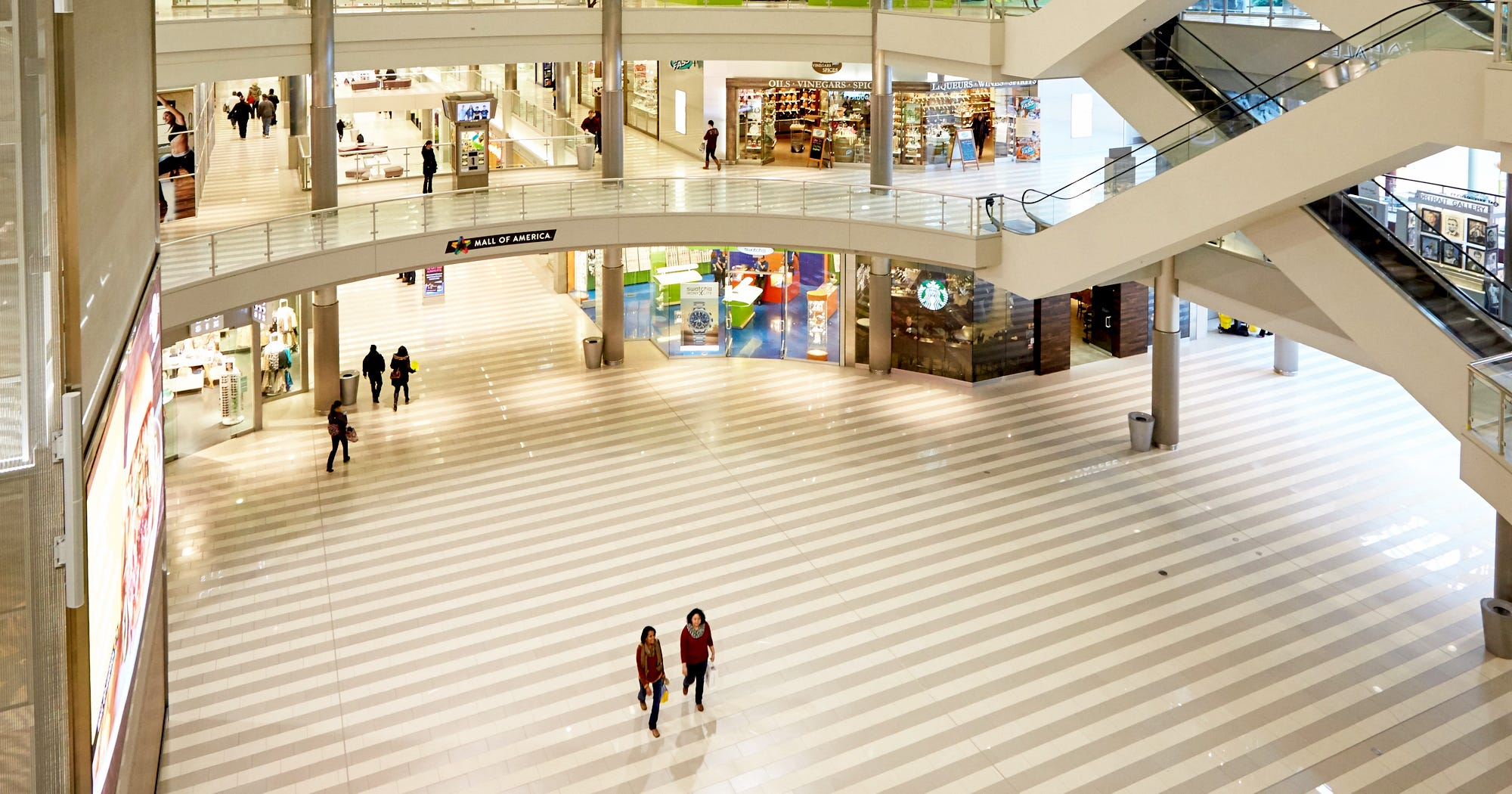 Death Of Shopping Malls - Mall Of America Popularity