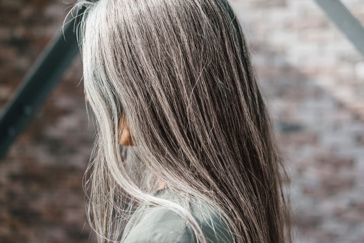 Get White Hair Naturally