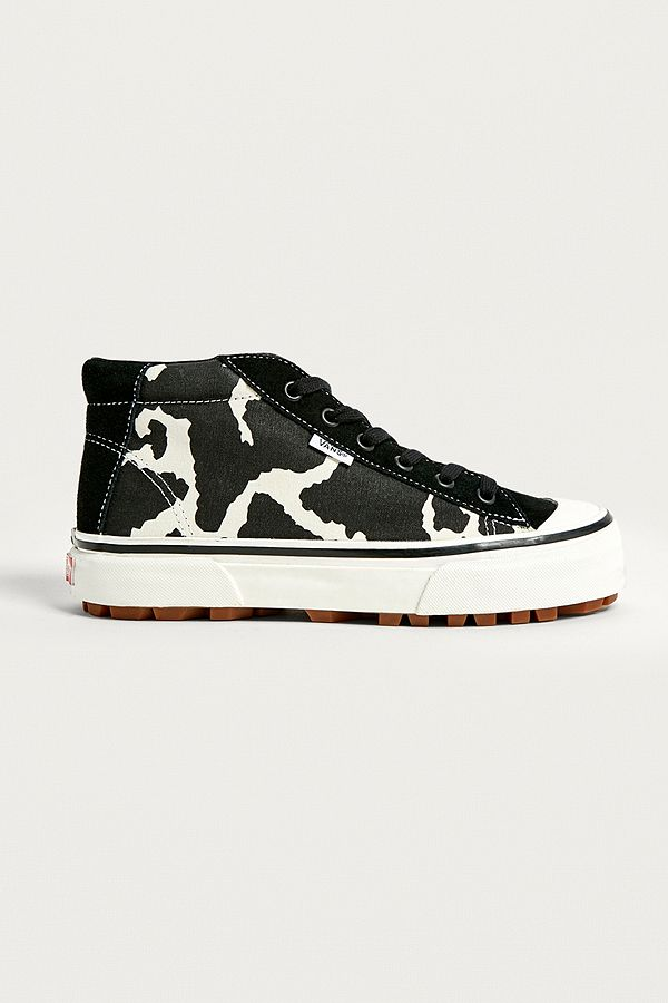 Style 29 Mid DX Cow Print Trainers