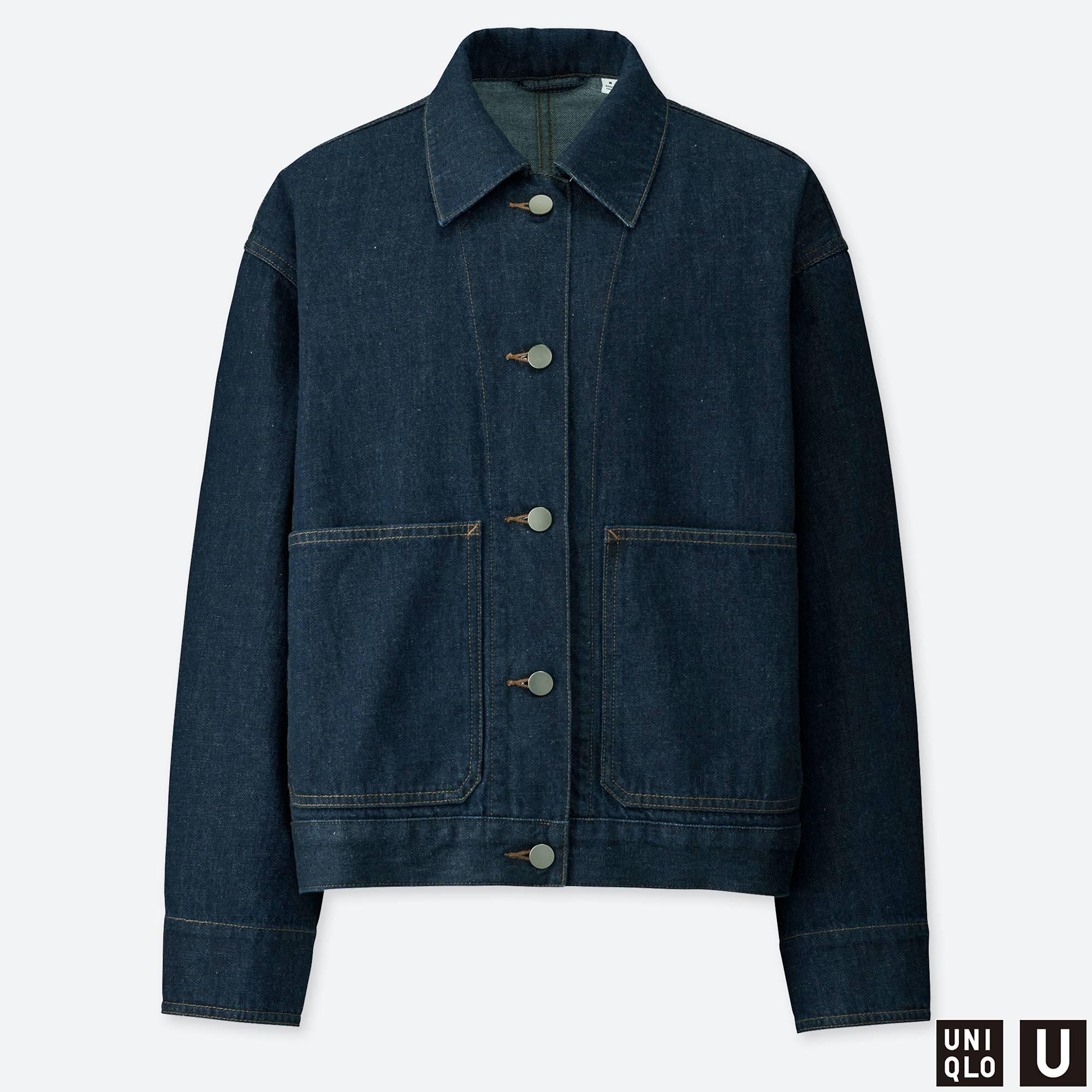 637465b68 Uniqlo U + Denim Jacket