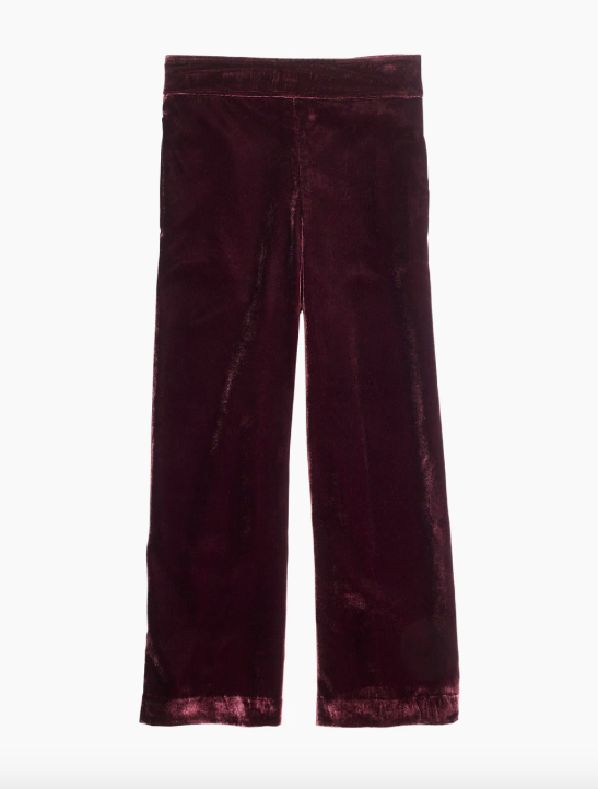 9bc56897c0 Madewell + Velvet Huston Pull-On Crop Pants