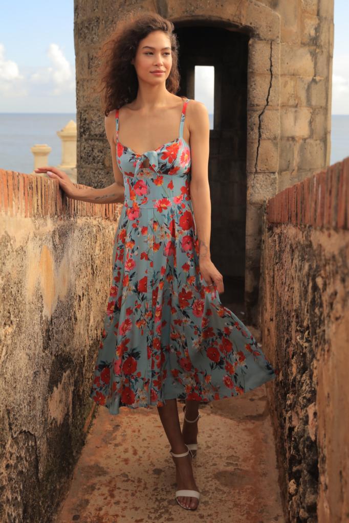 391e5ec4e2d0 endless rose + Endless Rose Shirred Slip Dress in Dandelion
