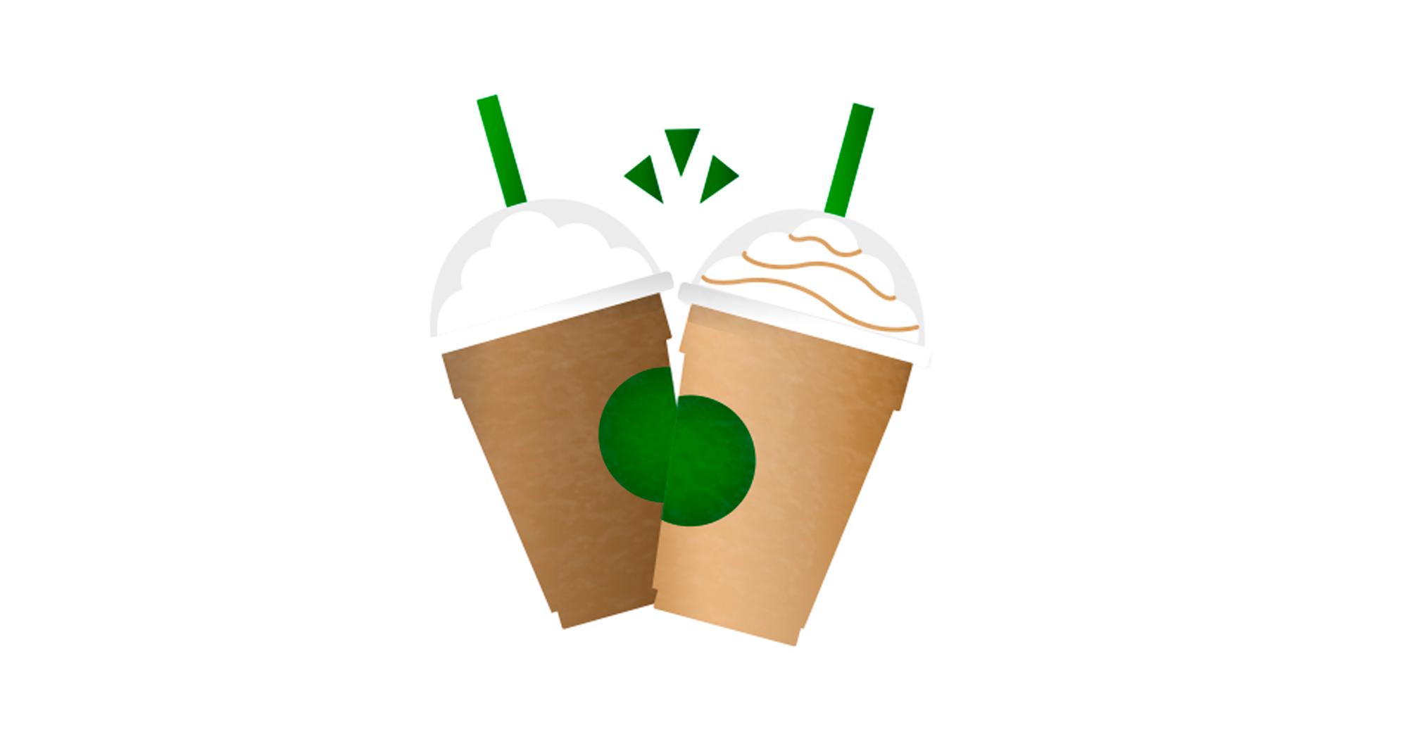 Starbucks Emojis Mobile Keyboard