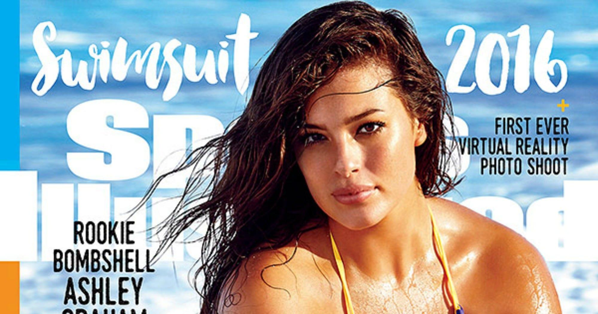 Ashley Graham Plus Size Model Sports Illustrated Cover