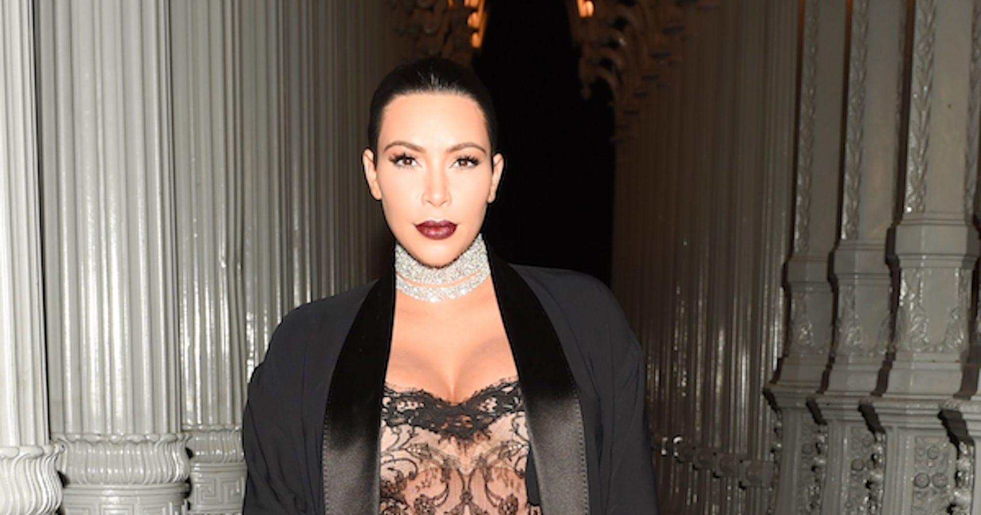 Kim Kardashian Writes An Epic Response To Nude Selfie
