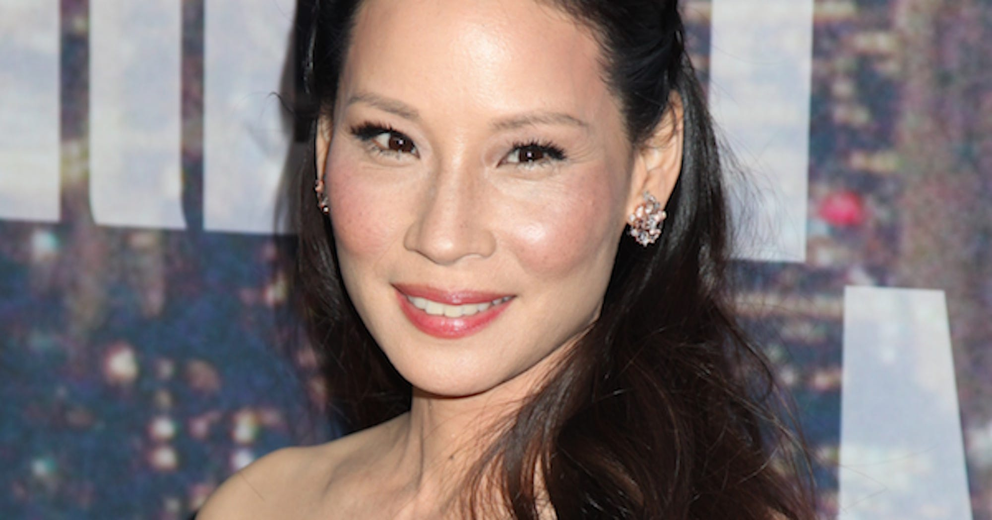 Lucy Liu's Son Is The Crown Prince Of Pinchable Cheeks