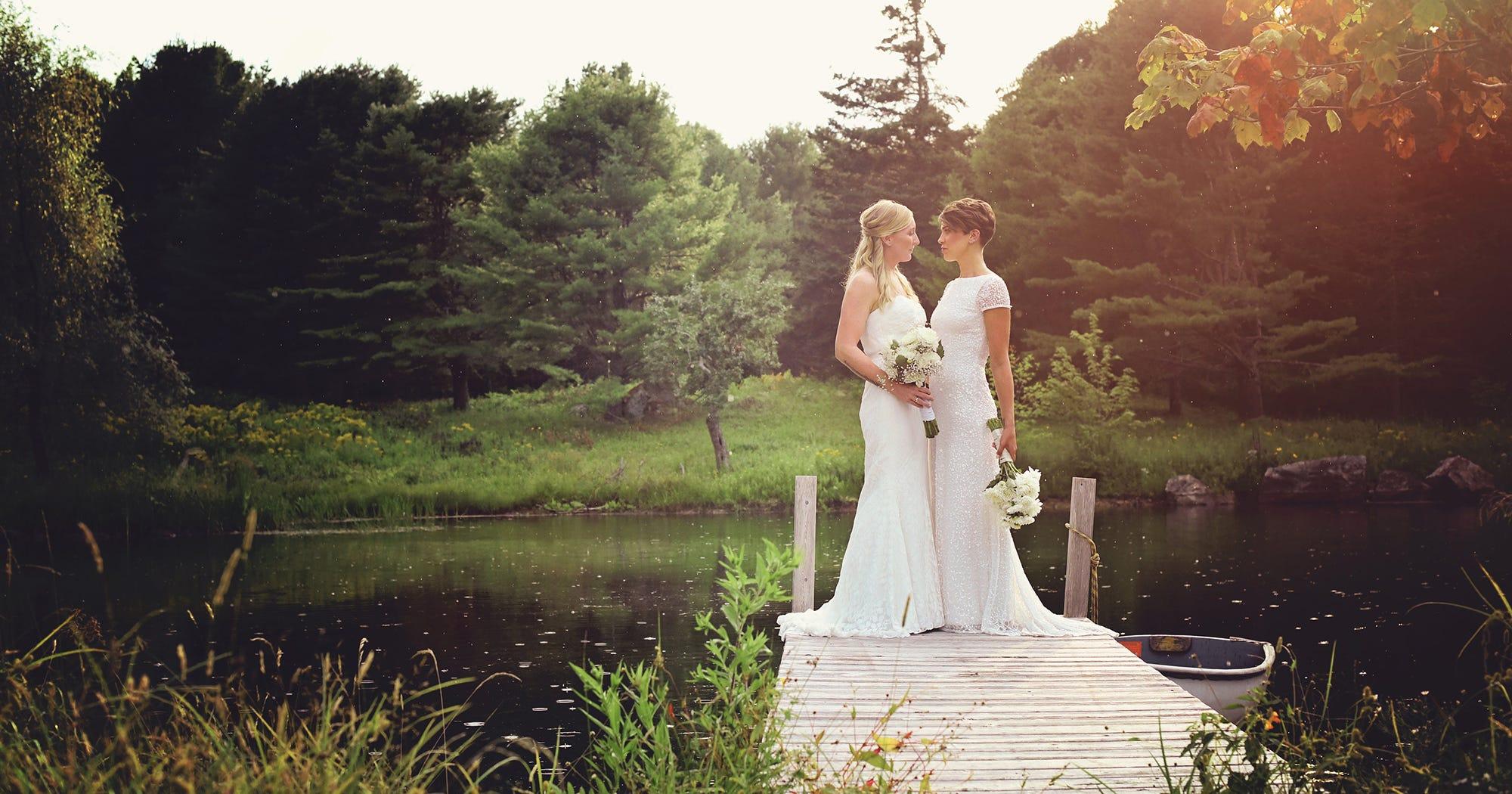DIY Maine New England Wedding Pictures
