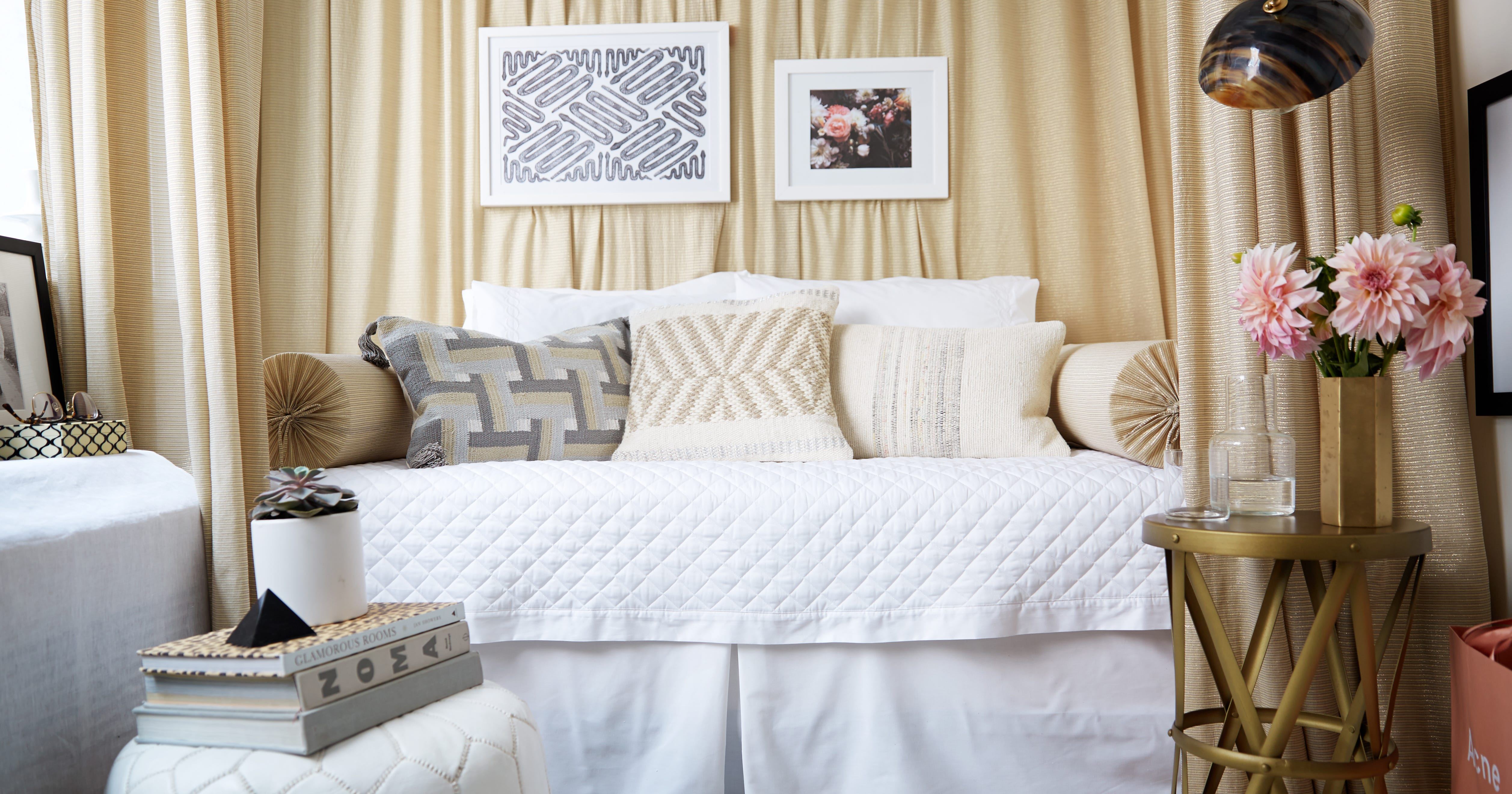 Small Space Living Ideas, Convertible Bedroom