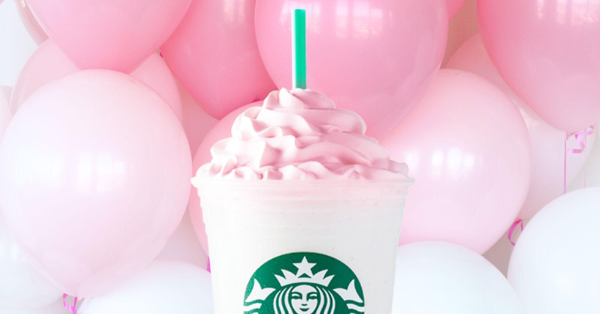 Marvelous Starbucks Birthday Cake Frappuccino Personalised Birthday Cards Paralily Jamesorg