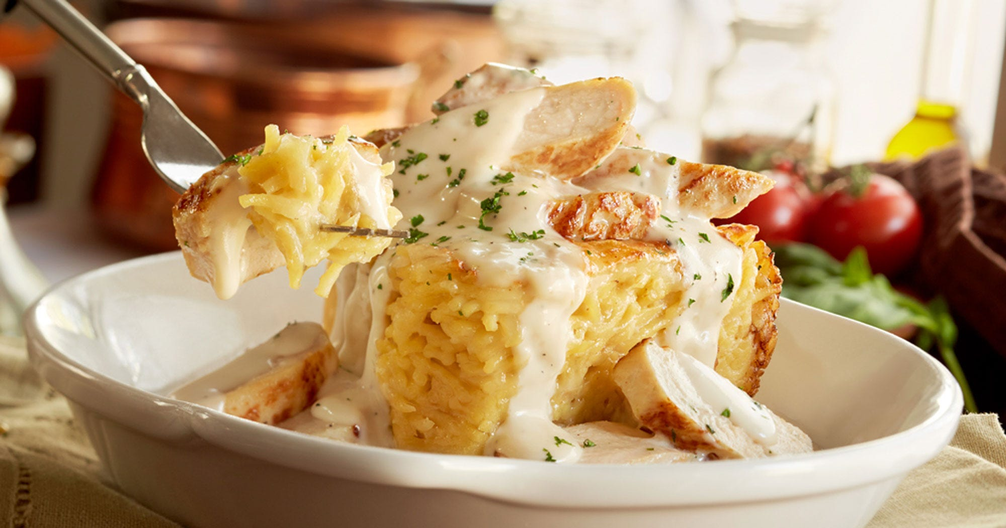 Olive garden new menu items spaghetti pie Does olive garden have take out