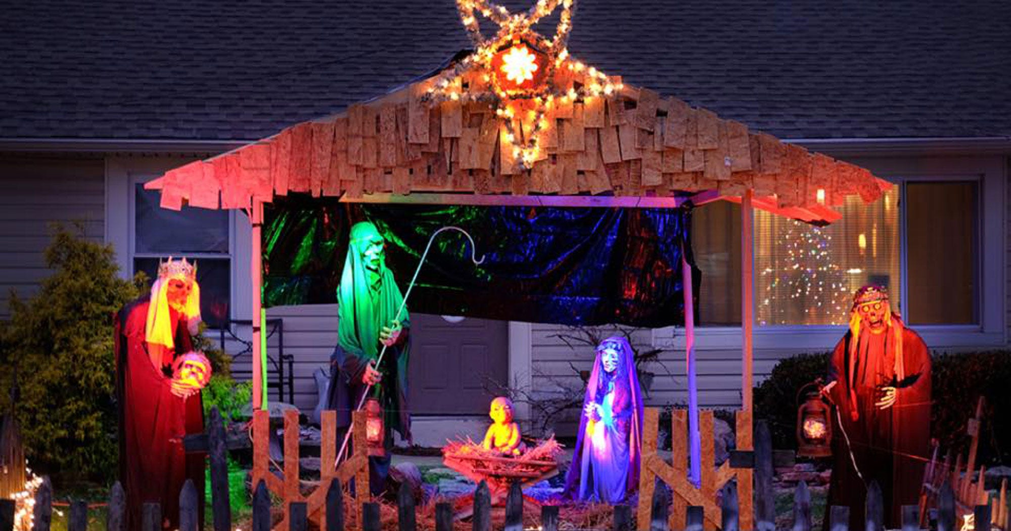 Zombie Christmas Decorations Uk