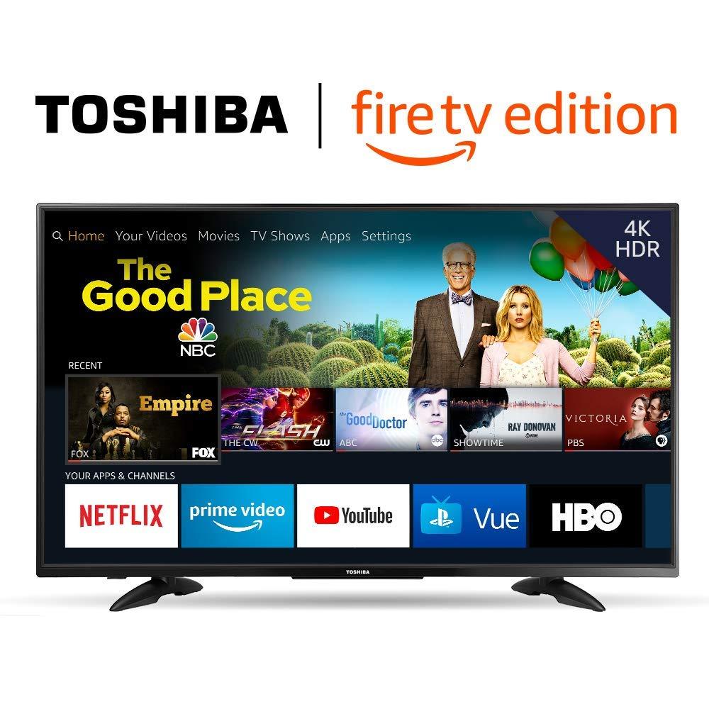 43-inch 4K Ultra HD Smart LED TV - Fire TV Edition