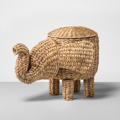 Brilliant Rattan Elephant Basket Natural Inzonedesignstudio Interior Chair Design Inzonedesignstudiocom