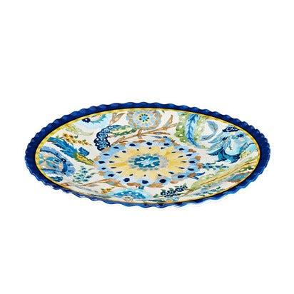Pottery Barn Cabo Melamine Round Platter