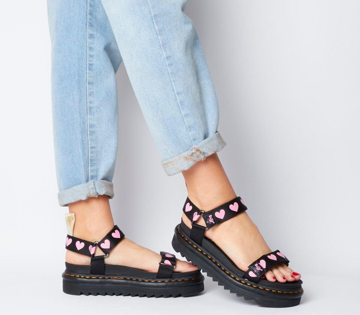 Dr. Martens + Vegan Lazy Oaf Sandals