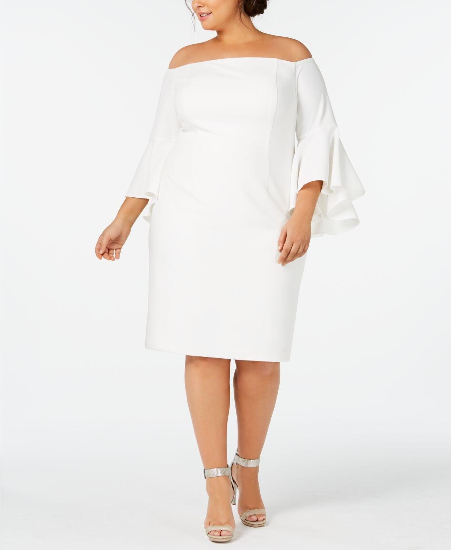 Off,The,Shoulder Crepe Dress